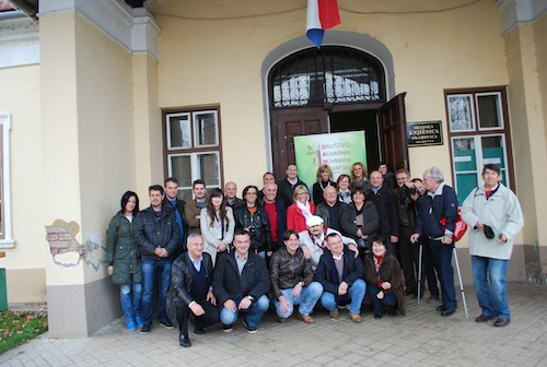 After the general assembly of DANH in Orahovica, Slavonia