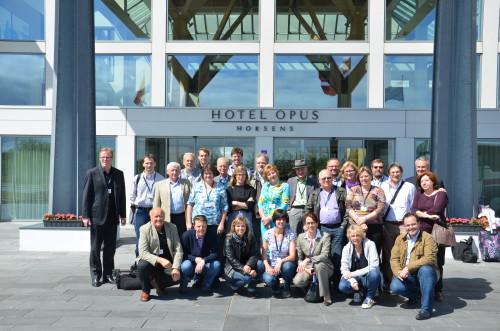 ENAJ delegates in Denmark