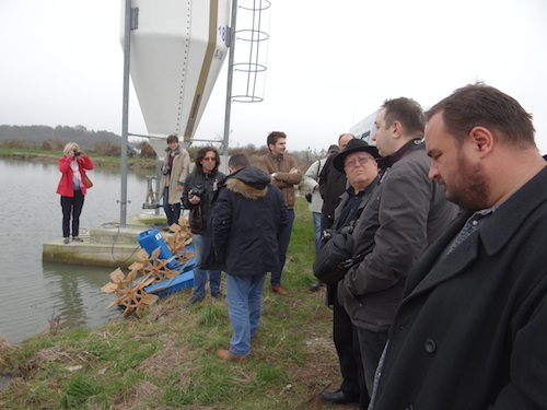 At the aquaculture operation of PP Orahovica