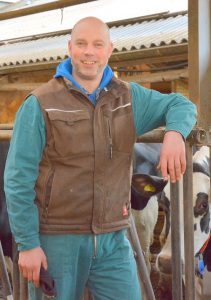 Markus Hubers, from Lima Holsteins, Germany