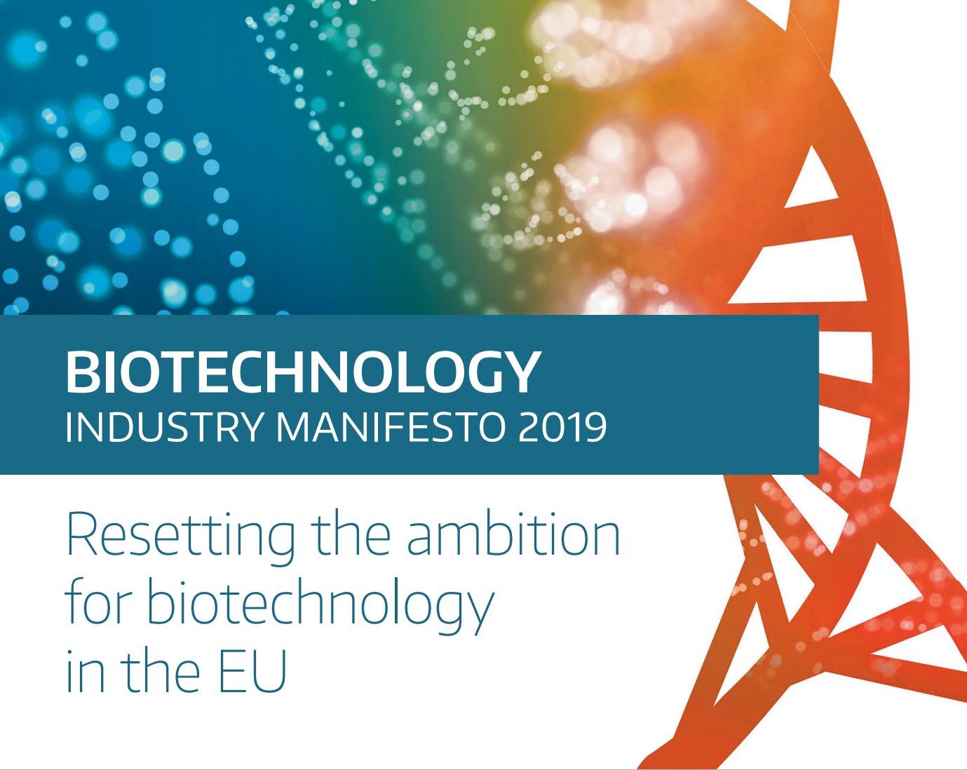 BioTech industry Manifesto 2019